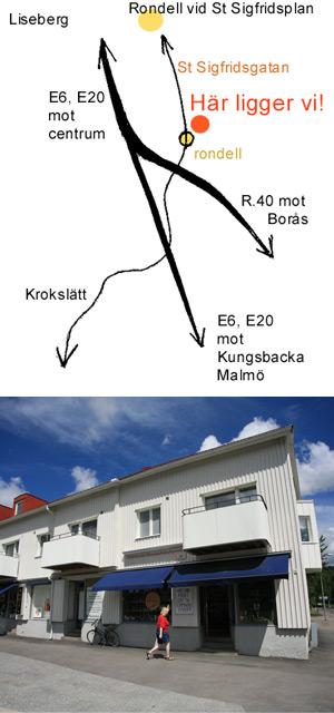 Hitta till Göteborgs Pepparkaksbageri